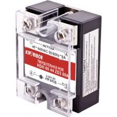 HDH-6044.ZA2 [M01] Твердотельное реле Kippribor (60A, 90-250V AC, 44-480V AC)